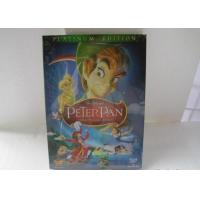 China 2018 Hot sell Peter Pan disney dvd movies cartoon dvd movies kids movies with slip cover case drop shipping on sale