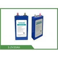 Safe pressure valve design 3.2V 20Ah Lifepo4 Battery Cell with prismatic aluminum casing