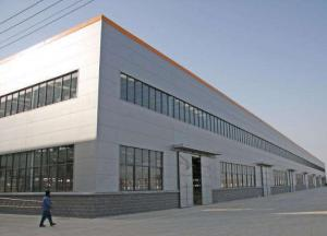 China prefab steel structure frame metal building warehouse with material Q345B Q355 on sale
