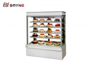 China Commercial Upright Bakery Cake Display Fridge 5 Layer Automatic Defrost System CE Certification on sale