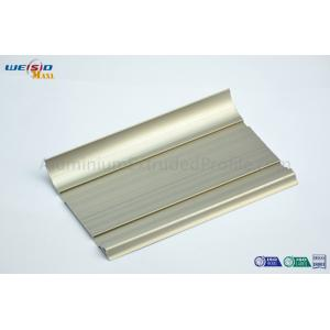 China Anodized Aluminium Extrusion Profile For Thermal Break Doors and Windows on sale