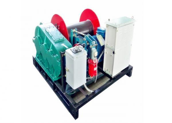 JCYC Electric Wire Rope Winch Gear Reducer Driving 0.5T-80T 30 m/min ...