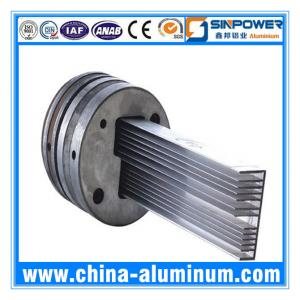 China 6063-T5 Custom Aluminium Extrusion Profiles on sale