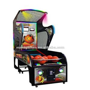 China Luxury basketball shooting simulator game machine / arcade street basketball machine on sale
