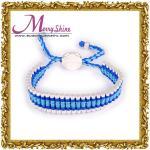 O azul feito-à-medida das tendências liga a joia dos braceletes da amizade para os presentes LS003 das meninas