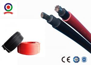 China Chemicals Resistant Single Core Solar Cable , XLPE Insulation Solar DC Cable 10mm2 on sale