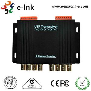 China 8 Channel Passive CCTV UTP Video Balun Transceiver Differential Signal Transmission on sale