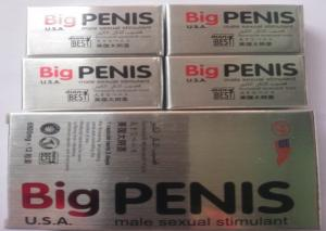 China USA Big Penis Male Sex Pills MMC Penis Enlargement Sex Tablets Ultra Long Prolong Sex Time Improve Impotence on sale