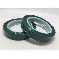 Flame Retardant Green Polyester Mylar Tape Pressure Adhesive Type