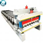 China Servo Motor Drive Roof Tile Roll Forming Machine 32mpa Yield Strength wholesale
