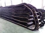 Anti Slip Rubber EP800 4 Ply Corrugated Sidewall Belt , Mobile Conveyor System