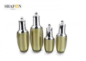 China Korean Style PMMA Acrylic Lotion Bottle Cosmetic Containers Painting Surface Finish on sale