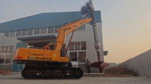 China 30m Truck mounted hydraulic rotary drilling rig on sale