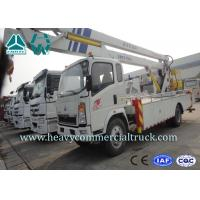 China Light Duty Aerial Ladder Truck Mounted Boom Lift Aerial Work Platform on sale