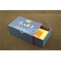 Logo Luxury Printed Gift Boxes Sleeve Box Design / Foodstuff custom box packaging