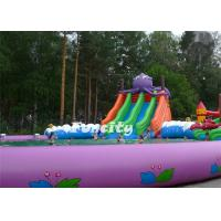 Octopus Theme Inflatable Swimming Pool , Inflatable Water Game