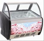 環境保護の小型アイス クリームの表示フリーザー/ショーケース 6 の容器