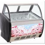 Mini envases del congelador/del escaparate 6 de la exhibición del helado con la protección del medio ambiente