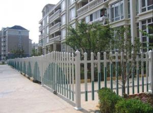 China High Security Villa Fence Stell  , Hot Dipped Galvanized Fences For Modern House  on sale