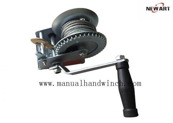 600lbs Portable Manual Hand Winch ,Cable Winches A3 Steel