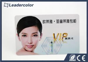China Carte en plastique 4C de PVC RFID d'OIN CR80 imprimant l'épaisseur de 0.3mm - de 2mm on sale