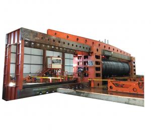 China Pressure Calculation Pipe Hydro Testing Machine For Spiral Welded Pipe on sale