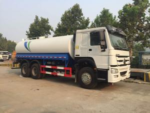China 290hp ISO PassedSinotruk Howo 20m3 Drinking Water Tank Truck 6x4 10 Tyres 2020 Model for City Road Cleaning on sale