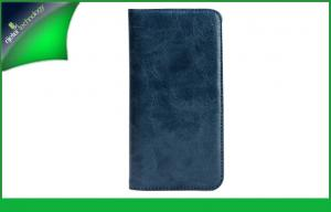 China Cool Blue PU Leather HTC Cell Phone Cases , HTC One M7 Covers on sale