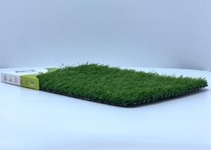 China Soft Comfortable Artificial Turf For Dogs , High Resilience Artificial Grass Squares on sale