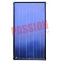 China 304 Stainless Steel Flat Plate Solar Collector Glass Cover Material 0.6Mpa on sale
