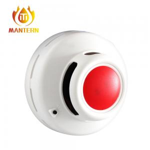 China Combined Smoke / Carbon Monoxide Monitor , Domestic Gas Detector 9V Battery Power on sale