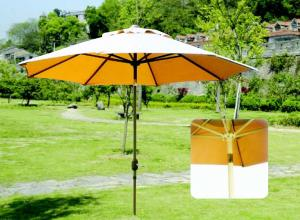 China 2.7M with tilt Aluminum or Steel Outdoor Garden Patio Umbrella on sale