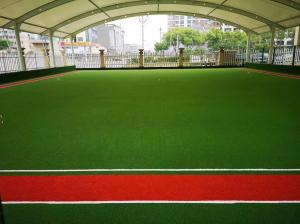 China Golf Course Artificial Grass Carpet PVC Material Long Working Lifespan on sale