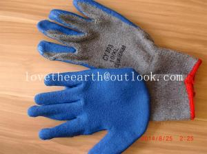 China latex coated glove on sale
