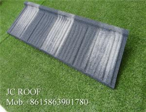 China Waterproof Green Shingle Corrugated Zinc Roofing Sheets In Tanzania Customized Color on sale