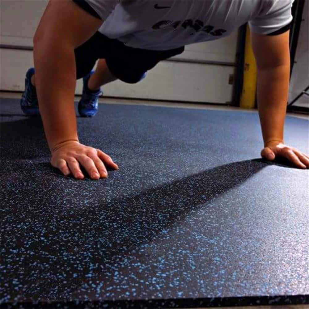 Long Service Life Rubber Flooring Tiles