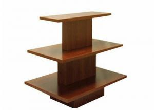 China Customized Wooden Garments Shop Display With 20mm Thinckness Shelves on sale