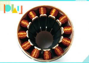 China Cylindrical 12 Winding Copper Wire Generator Coil With Iron Core Bobbin Wind on sale