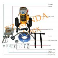Portable Hydraulic Electric Airless Paint Sprayer For Ceiling / Internal Wall
