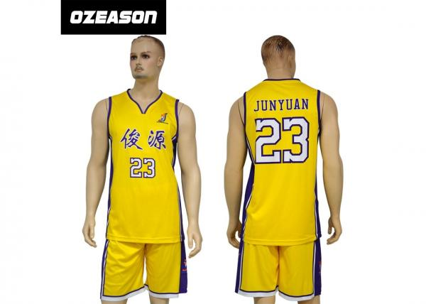 1e8a68a2149 Polyester Dry Fit Sublimation Custom Latest Basketball Jersey Design Images