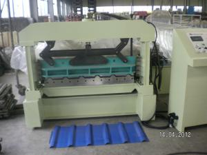 China Automatic Hydraulic Steel Roll Forming Machine Metal Cladding on sale