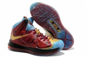 China Le Roi James Shows Off His LeBron X « Iron Man 3 coutumes de ″ on sale
