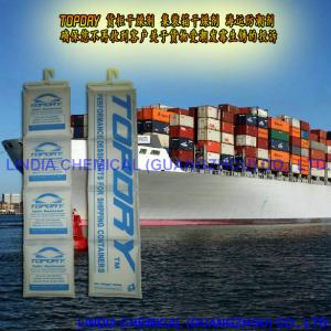 China Calcium Chloride Container Desiccant on sale