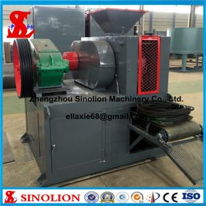 China Slag fluorite microsilica iron ore fines coal dust charcoal mineral powder hydraulic briquette machine factory price on sale