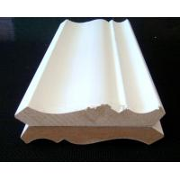 China Wood Moldings Gesso coated Wooden Primed Radiata Pine FJ Finger joint  Wood Moldings on sale