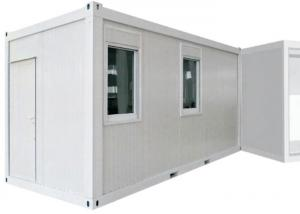 China Standard Storage Container Houses With Two Double Glazing Sliding Windows And Door on sale