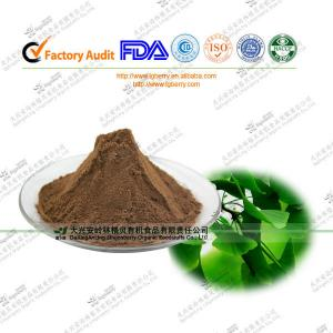 China FDA certified Ginkgo Biloba Extract Ginkgoflavon Glycosides24% for bloods health on sale