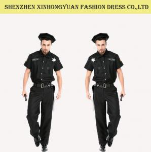 Quality Custom Police Man Halloween Costume Police Officer Uniform For Adults for sale ...  sc 1 st  Military Dress Uniforms - Everychina & Custom Police Man Halloween Costume Police Officer Uniform For ...