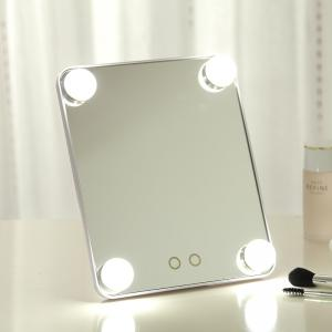 China Amazon Hollywood color bulbs led colorful frame cosmetic mirror for vanity makeup girls on sale