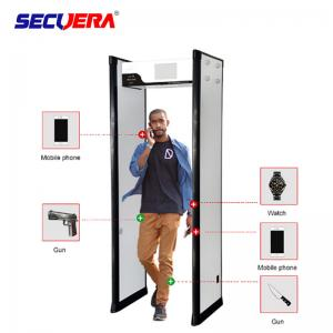 China Light Weight  Door Frame Metal Detector 40KG Grosee Weight For Exhibition Halls on sale